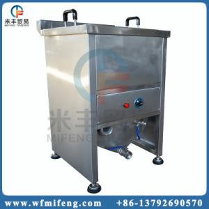 Industrielle Gas-Heizungs-Imbiss-Nahrung, die Maschine/Huhn-Bratpfanne brät