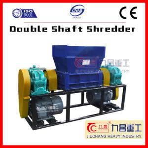 Chipper 슈레더 플라스틱 재생 기계 두 배 샤프트 슈레더