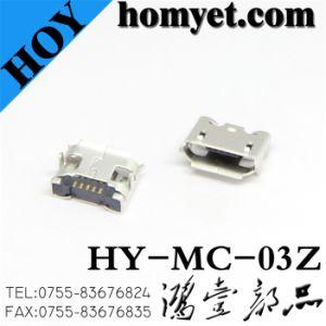 Conector mini USB 5 pines para productos digitales (MC-03Z)
