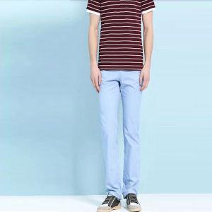 Svago Style New Promotion Cotton Indicatore-blu Pants per Man