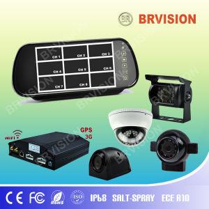 4 Kanal DVR mit Monitor und Cameras
