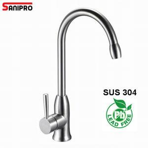 Sanipro SUS304 кухни из нержавеющей стали под струей горячей воды