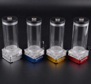 Het Nieuwe Ontwerp van Syscooling P67D ultra-Stil met de Koeler van Heatsink van de Pomp van de Waterkoeling van de Tank van het Water Voor Computer