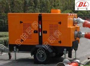 La generación de energía de emergencia de agua bomba diésel