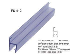 Chuveiro de alta qualidade juntas em PVC Porta de vidro