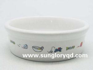 Taça de PET de cerâmica do adesivo de Gyp011
