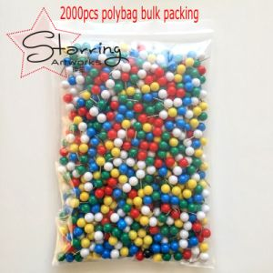 卸売は10X20mmのコルクのボードのための円形のプラスチックヘッドマップ押しピンを着色した