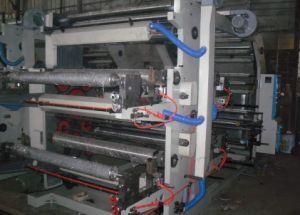 Impressão em quatro cores Flxo Nonwoven Bag máquinas de impressão