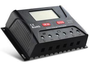 40A 12/24/36/48V Regulador Solar Display LCD Controlador Solar (QWP-SR-HP4840A)