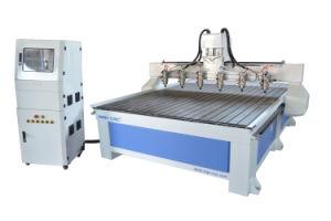 Sinal de alta eficiência-1325/1530 seis Chefes Madeira Router CNC para venda