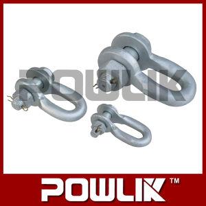 Ferragens de Aço Galvanizado U tipo manilha para conexão de energia de link