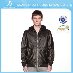 New personalizzato Stytle Mans Leather Jacket con Highquality