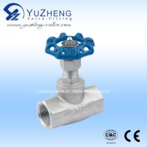Válvula de globo de la cuerda de rosca de J11W Manufacutrer