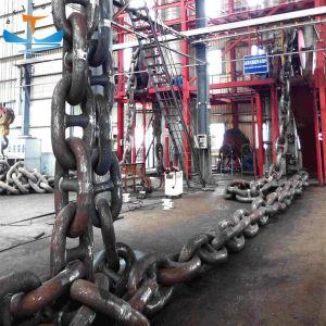 El grado de U1 U2 U3 Enlace de espárrago de Marina de acero de la cadena de ancla de barco
