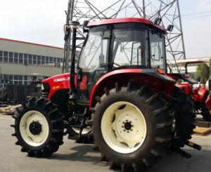 De nieuwe Tractoren van de Wereld 4WD 100HP van de Tractoren van het Landbouwbedrijf van de Aankomst