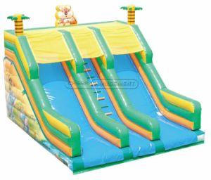 Cheer Amusement girafe Terrain de jeux intérieur de l'équipement Diapositive gonflable