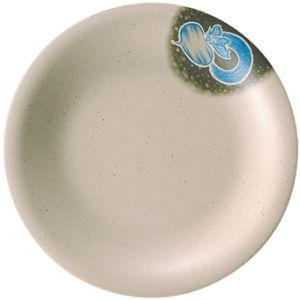 100 % de la mélamineCeladonPlaque ronde Série/vaisselle, plaque ronde (AM010.5)