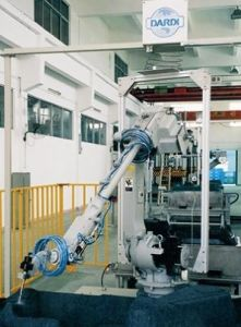 Waterjet Scherp Systeem---Het Scherpe Systeem van het Water van de Robot van Dcm