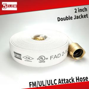 """2"""" de caucho EPDM de manguera de incendios/TPU forrado con FM/UL/ULC Certificación"""