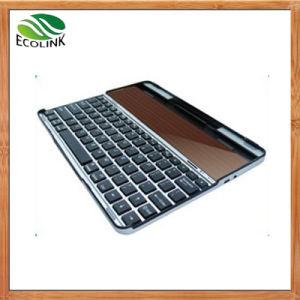 Teclado sem fios Bluetooth Solar para iPad ou Tablet PC