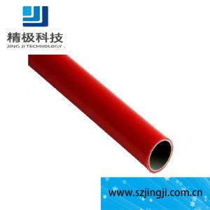 Stahlrohr ABS überzogene Stahlgefäß-Rohr-Plastikzahnstange für Werktisch (HJ-4000)