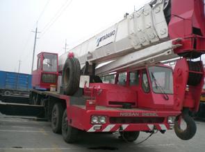 Gru mobile utilizzata (TG-550E)
