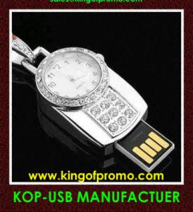 宝石類の腕時計USBのフラッシュドライブ