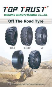 道OTRのタイヤ(15.5-25、17.5-25、20.5-25、23.5-25、26.5-25、29.5-25、14.00-24)を離れたよいローダー
