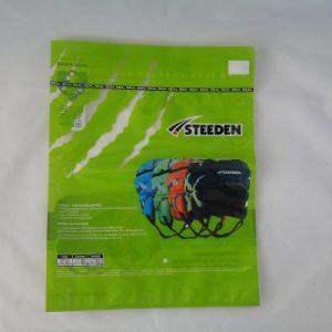 ZipperのカスタムデザインのHot Sealed Plastic Packing Bag