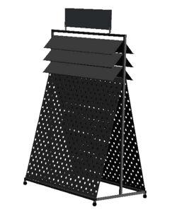 فرقعت فوق مسمار عمليّة صقل جدار مظلة معدنة أرضية عرض حامل قفص
