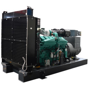 500kw Cummins Engineの開いたタイプディーゼル発電機セット