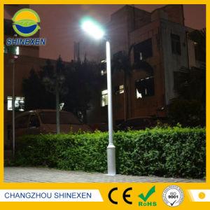 屋外の太陽統合された街灯か太陽庭ライト