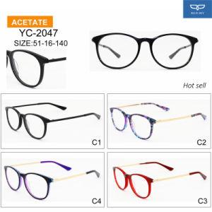 De klaar Bril Eyewear van de Glazen van het Frame van de Acetaat van de Prijs van Goederen Goedkope Optische in de Levering van de Fabriek van de Goede Kwaliteit direct