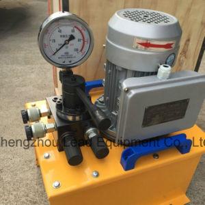 la pompa di olio elettrica 63/70MPa ha abbinato con martinetto idraulico