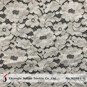 服(M3481-G)のためのすべてのRaschelのレースの綿織物のレース