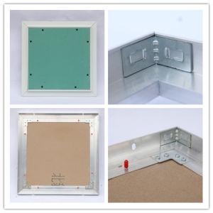 Plaques de plâtre étanche en aluminium Panneau de porte ouverte d'accès au plafond