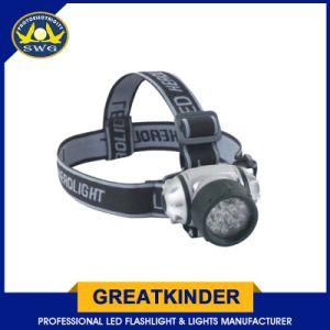 最もよい品質の多目的ハイキングの使用14LEDのヘッドライト