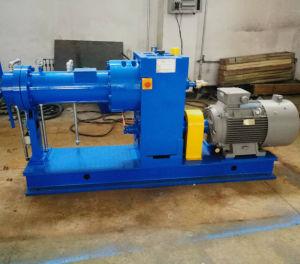 Einzelne Schraube Rubbe Extruder-Gummiextruder-Maschinen-Gummistrangpresßling-Maschine