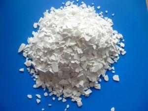 74-77% het industriële Chloride van het Calcium van de Verwijdering van de Sneeuw van de Rang Zoute