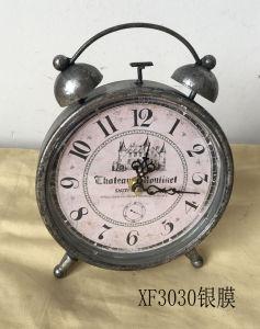 Regalo promocional 2017 Decoración Escritorio Vintage Reloj Metal