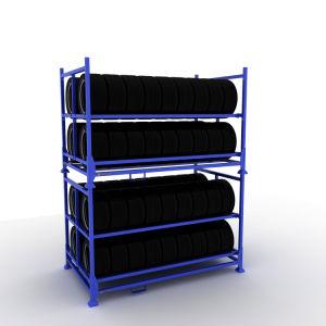 Cheap empilage Rack en acier robuste