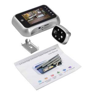 3.5 van TFT LCD van het Scherm van de Digitale van de Deur van het Kijkglas Duim Camera van de Kijker met de Visie van de Nacht