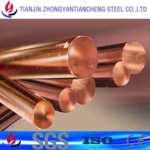 C18200 C18150 Barra redonda de bronce el cobre para conductores