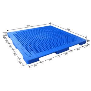 Nove pés Grid Rack para o depósito de paletes de plástico de HDPE