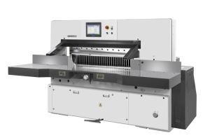 10 pulgadas de pantalla táctil de guillotina de papel computarizado/cortador de papel y el papel de la máquina de corte (186E)