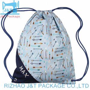 Sac en coton/ sac de coton à bon marché coloré/ coulisse unique pour les amateurs de sac de coton