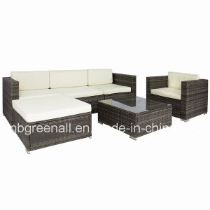Extérieur/Intérieur/Jardin/meubles en rotin Poly rotin Canapé-Set