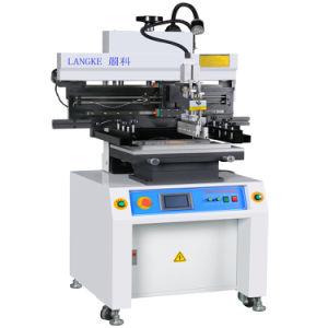 반 자동 땜납 풀 스크린 인쇄 기계