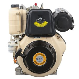 Verticale Enige Diesel van de Cilinder Motor (ETK192F)