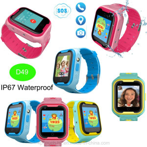 4G/Lte Network GPS Tracker Watch met Monitoring In real time D49